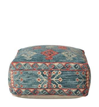 Regulus Floor Cushion - Cobalt