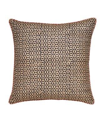 Roa Reversible Pillow Cover - Red/Black