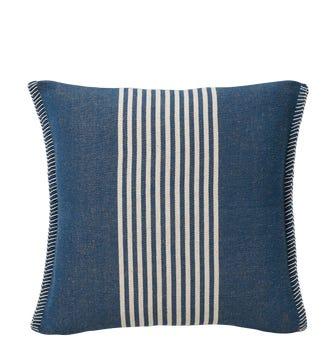 Roku Pillow Cover Block Stripe - Blue