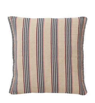 Roku Pillow Cover Multi Stripe - Blue