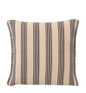 Roku Pillow Cover Multi Stripe - Navy