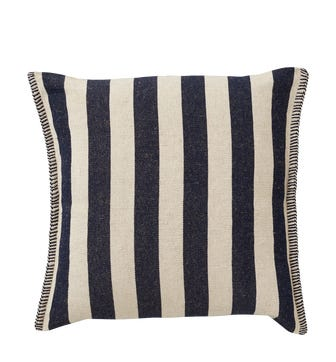 Roku Pillow Cover Thick Stripe - Navy