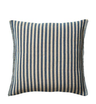 Roku Pillow Cover Thin Stripe (60cmSq) - Blue