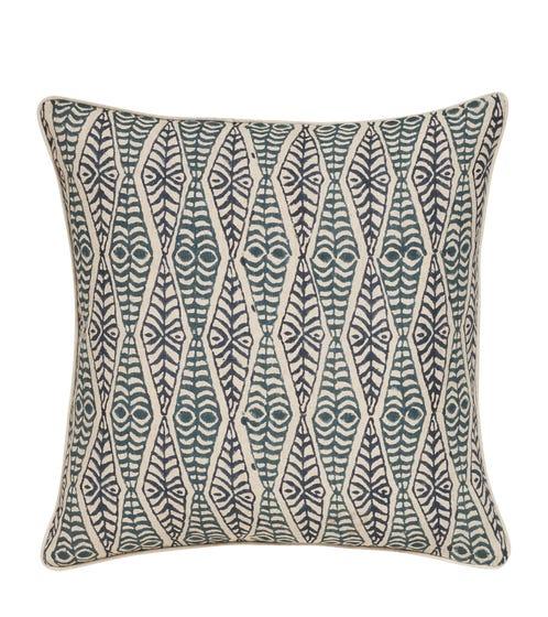 Sakana Pillow Cover - Air Force Blue