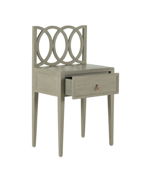 Sarrukin Table - Warm Gray