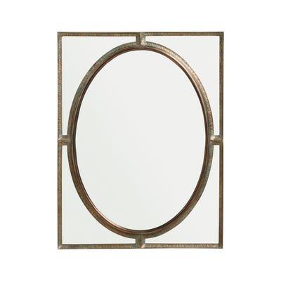 Sedgebeer Metal Mirror - Antique Bronze