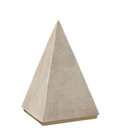 Sesorthos Decorative Pyramid - Taupe