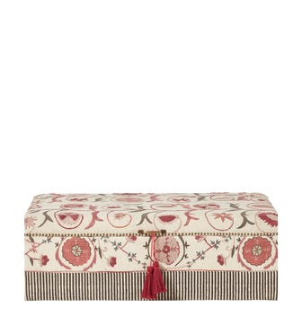 Sheki Upholstered Ottoman