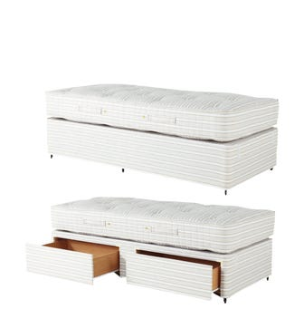 Single Mattress & Divan Bed with Drawers