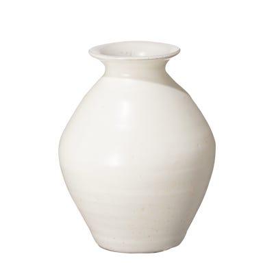 Small Fyli Vase - White