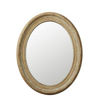 Small Killarney Mirror - Distressed Green