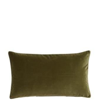 Small Plain Velvet Pillow Cover - Spruce