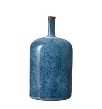 Small Zabiya Decorative Vase - Blue