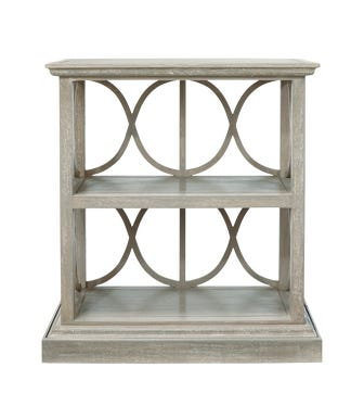 Stack Shelves, Low - Silver Birch