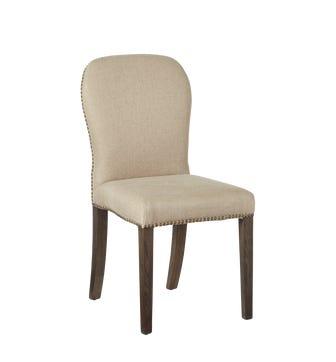 Stafford Linen Chair - Sand Herringbone