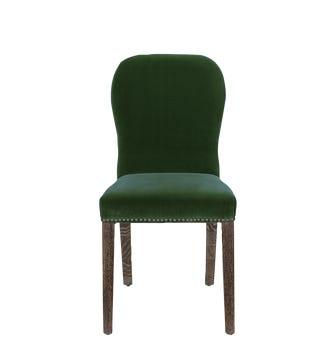 Stafford Velvet Chair - Moss