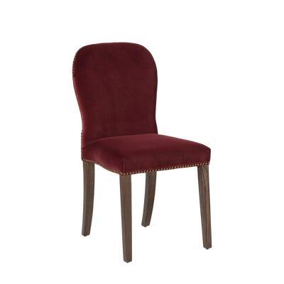 Stafford Velvet Dining Chair - Rioja