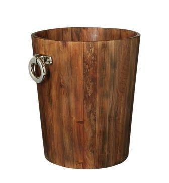 Sumava Log Bin, Small - Recycled Elm