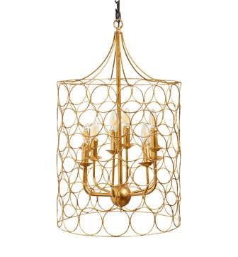 Sylla Hanging Lamp - Gold