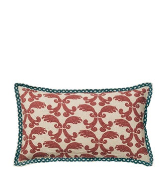 Tarsia?Cushion Cover? - Red Garnet