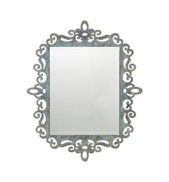 Teleri Mirror - Verdigris