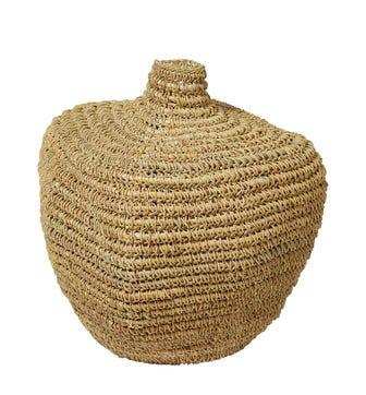 Thalassia Basket Vase - Natural