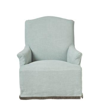 Thovarton Armchair - Ice Blue
