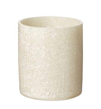 Toba Wastebasket - White