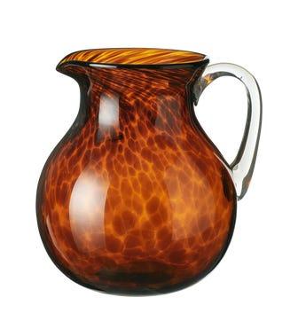 Tortoiseshell Glass Jug - Tortoiseshell