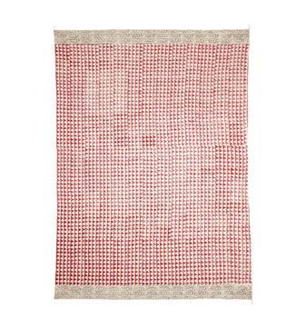 Trivandrum Rug - Red/White