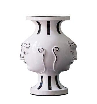 VD Gemini Vase - White/Black