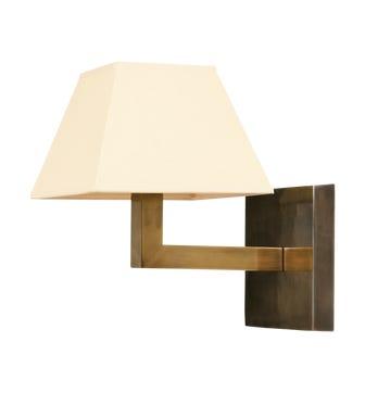 Veldi Wall Light, Brass
