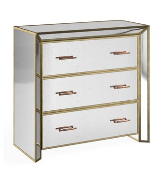 Versailles Chest of Drawers - Antiqued Mirror