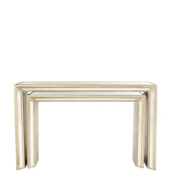 Versailles Nested Consoles - Antique Gold