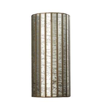 Versailles Wall Lamp - Antiqued Mirror