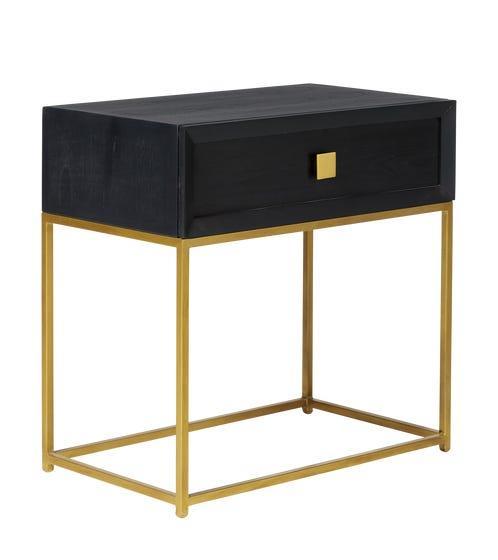 Vortist Side Table - Ebony