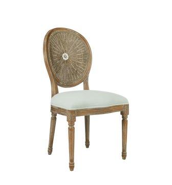 Washakie Linen Chair - Stonewashed Eau de Nil