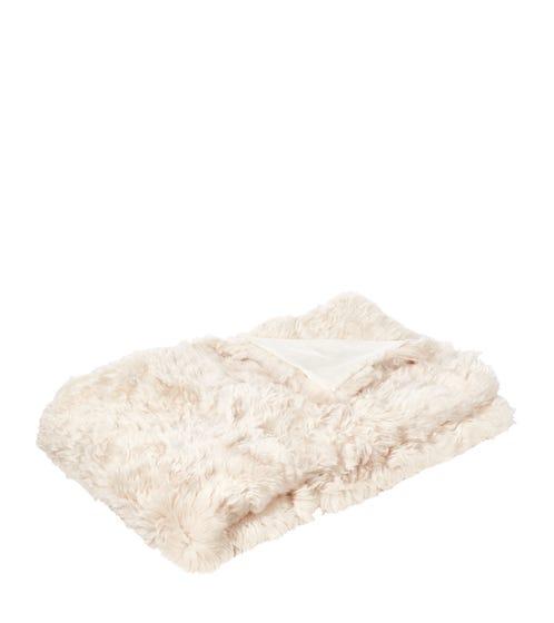 Westray Sheepskin Throw - Snow