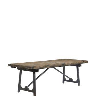 Winglefield Extending Dining Table - Blackened Pine