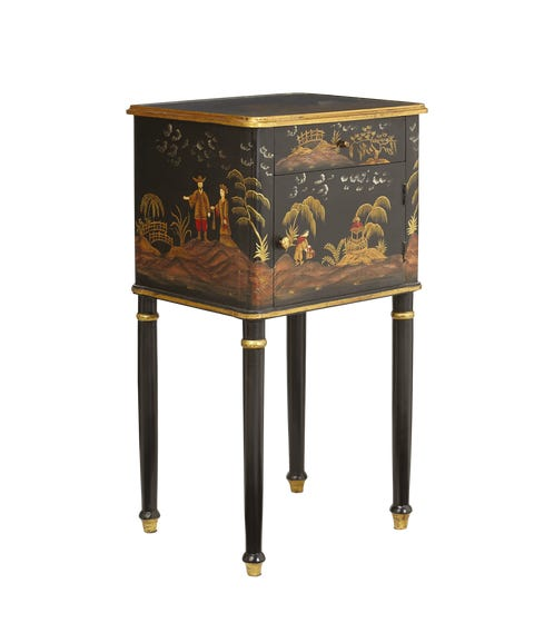 Xin Bedside Table - Black