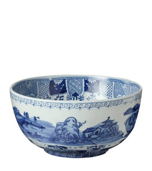 Yibi Bowl - Blue/White