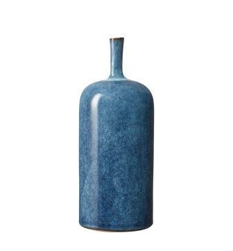 Zabiya Decorative Vase Large - Blue