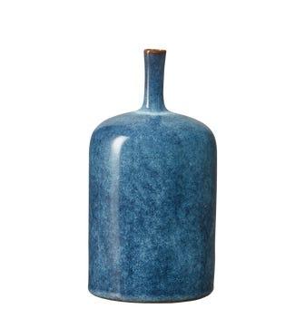 Zabiya Decorative Vase Medium - Blue