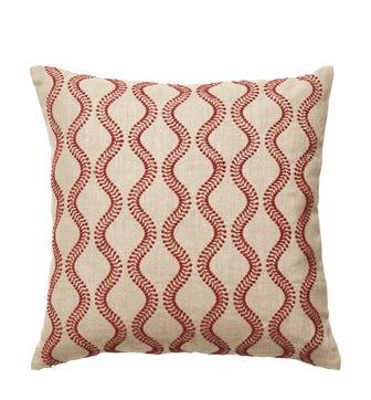 Zostera Cushion Cover - Blood Orange