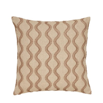 Zostera Pillow Cover 51cmsq - Natural