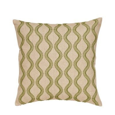 Zostera Pillow Cover 51cmsq - Putting Green