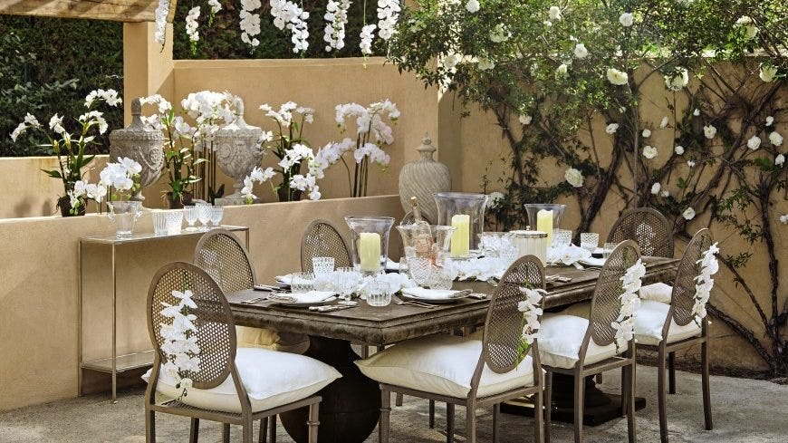 Outdoor To Indoor Dining Table Ideas Oka Blog